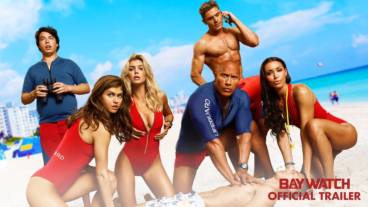 Baywatch, film, review