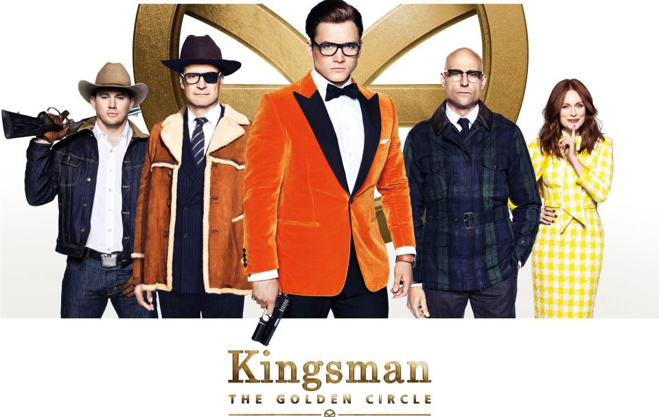 Kingsman: The Golden Circle, Mark Strong, Colin Firth, Juliane Moore, Taron Egerton, Channing Tatum.