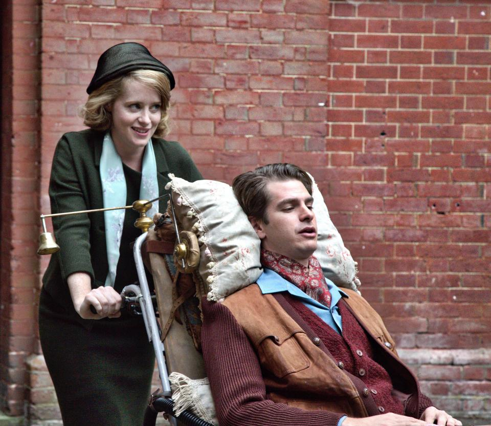 Breathe, Andrew Garfield, Claire Foy