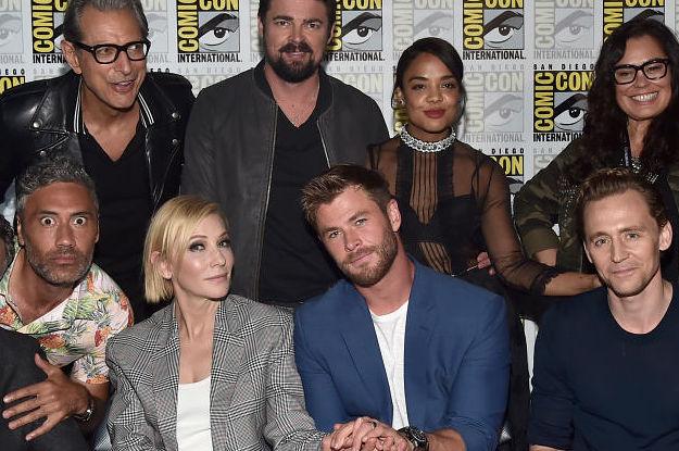 Thor, Thor: Ragnarok, Thor: Ragnarok cast
