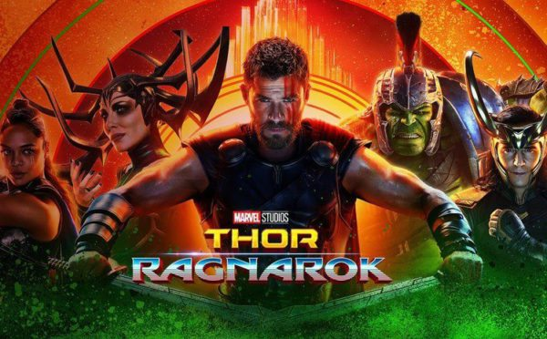 Thor, Thor Ragnarok, Chris Hemsworth, Tom Hiddleston, Cate Blanchett, Tess Thompson, Mark Ruffalo